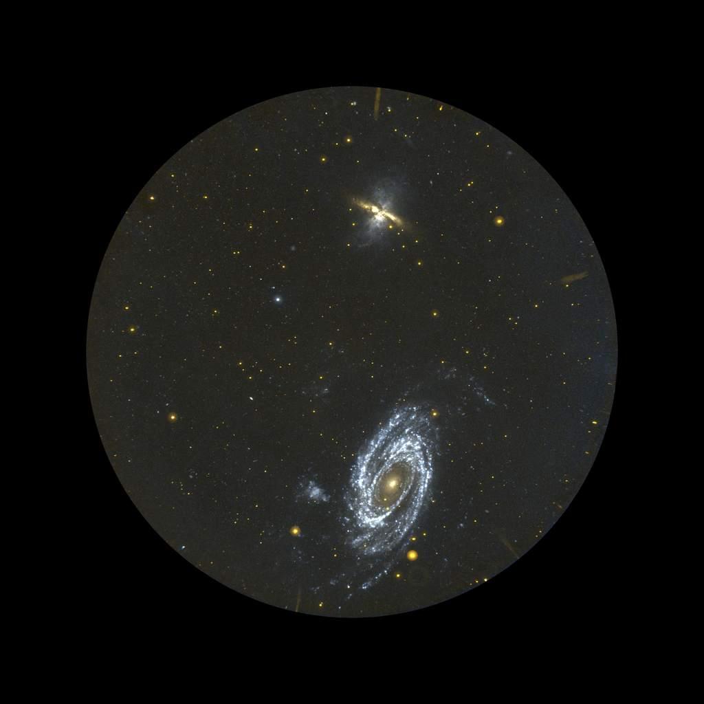 M81 okiem GALEXa