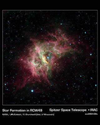 Blask gwiezdnych klejnotów w obiektywie Spitzera