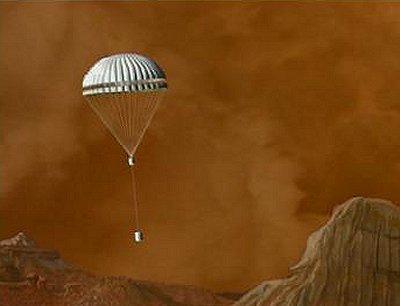 Zejście Huygends na powierzchnię Tytana