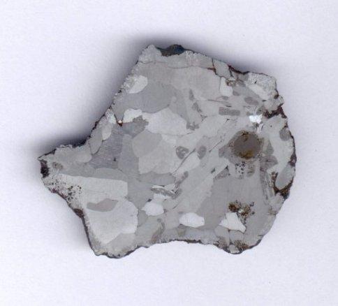 Przekrój meteorytu Morasko