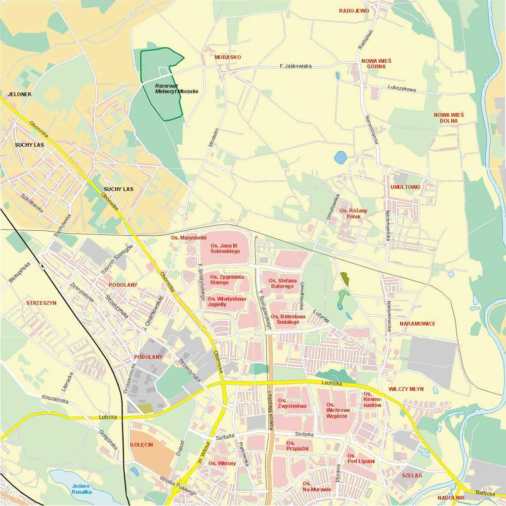 Lokalizacja Rezerwatu