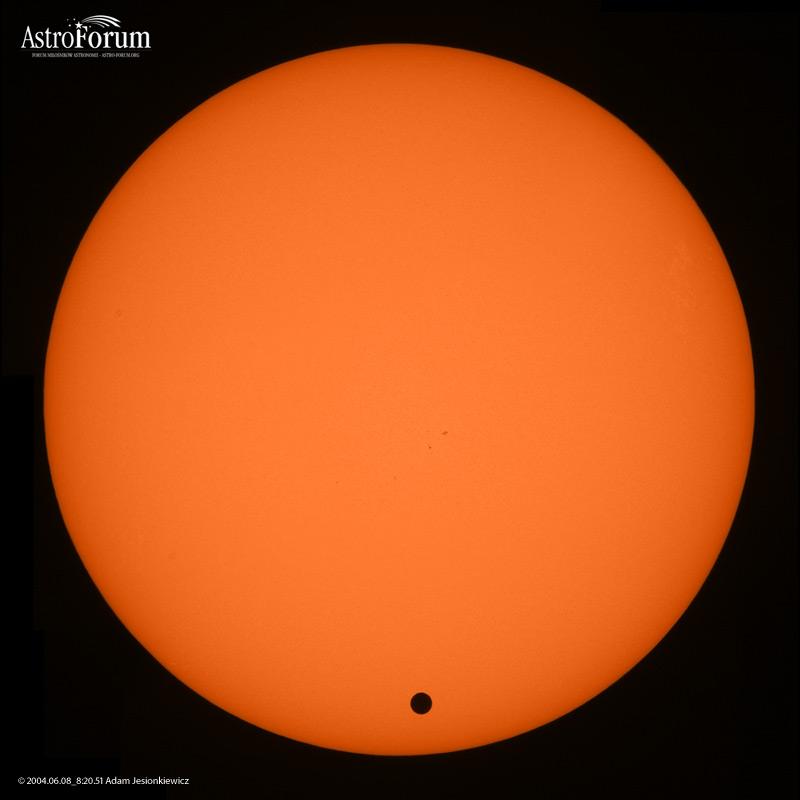 Słońce w całości i Wenus