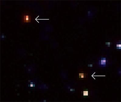 Dwie niezwykle jasne galaktyki
