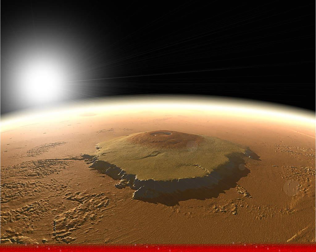 Wulkan Olympus Mons