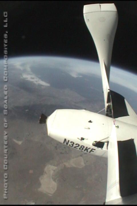Ziemia widziana ze SpaceShipOne
