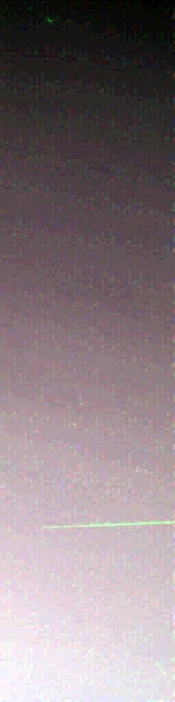 Meteor w marsjańskiej atmosferze