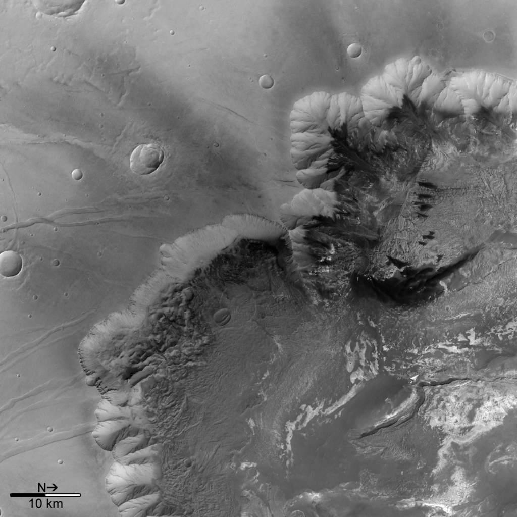 Melas Chasma wczerni ibieli