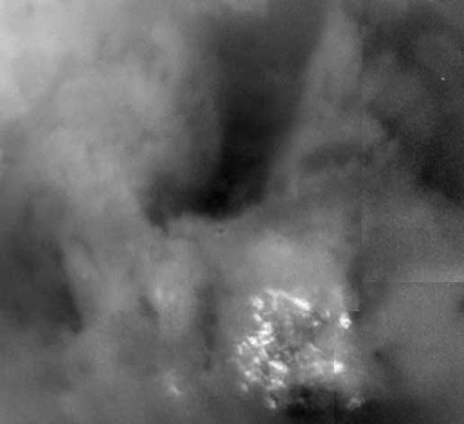 Poudniowy biegun Tytana