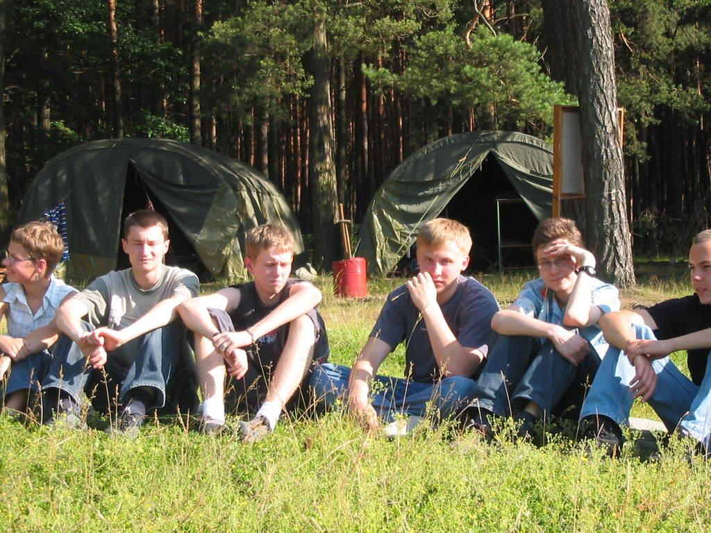 Obóz w Załęczu w 2004 roku