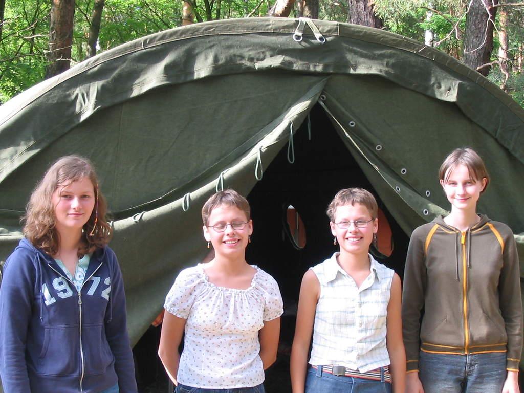 Obóz, Załęcze 2004 - płeć piękna