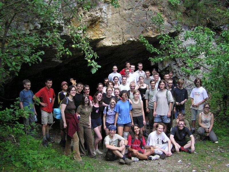 Obóz 2004 przed Szachownicą