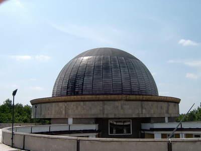 Planetarium Śląskie - widok ztarasu