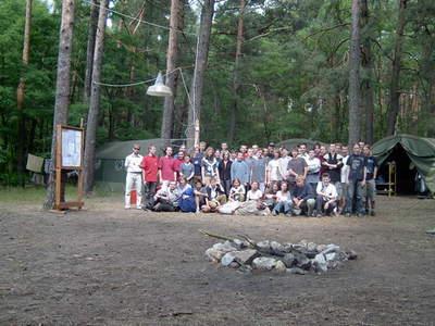 Uczestnicy obozu AD 2004