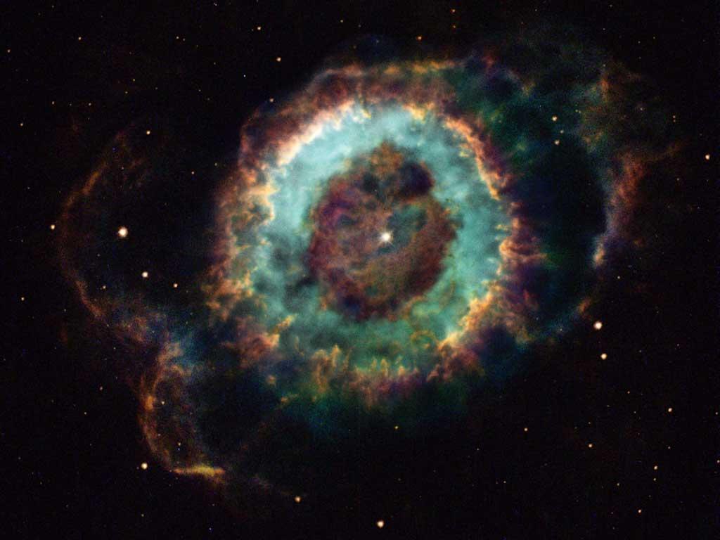 Mgławica Mały Duch (NGC 6369)