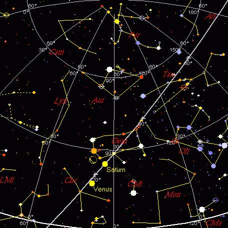 Wschodnie niebo, 10 września 2004 godzina 4:00