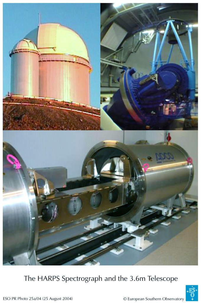 Obserwatorium wLa Silla - Spektrometr HARPS