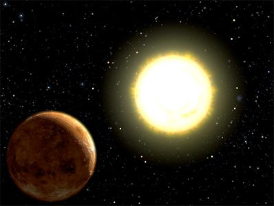 Czwarta planeta krążąca wokół 55 Cancri