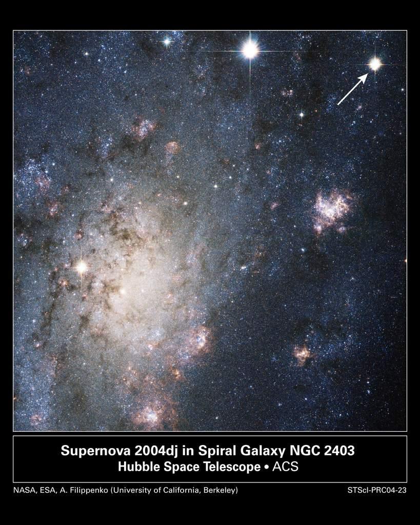 Bardzo jasna supernowa w NGC 2403