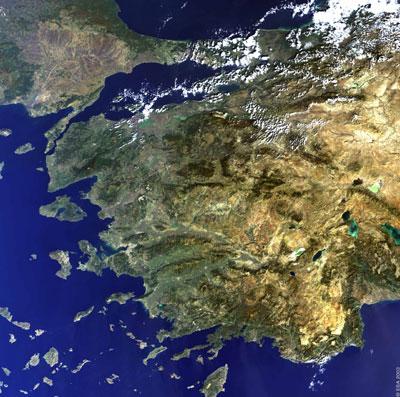 Turcja z kosmosu