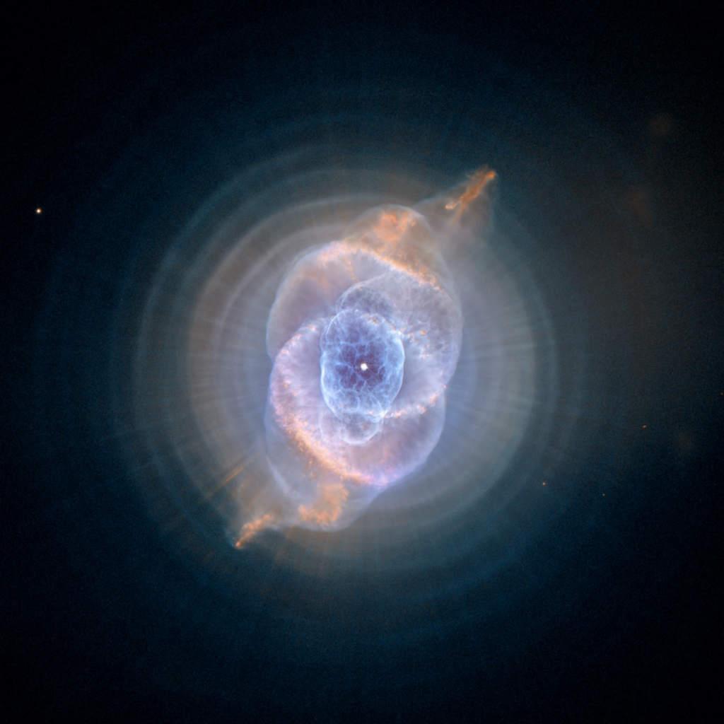 Mgławica planetarna NGC 6543 (Kocie Oko)
