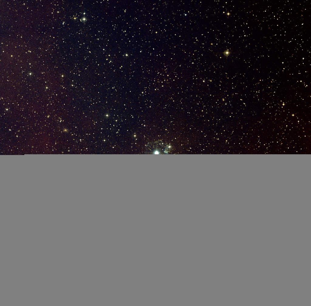 Mgławica Kocie Oko NGC 6543 (gwiazdozbiór Smoka)