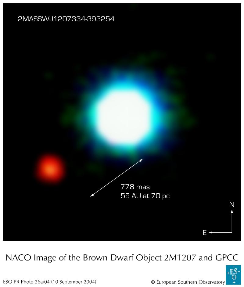 Pierwsze zdjęcie planety pozasłonecznej?