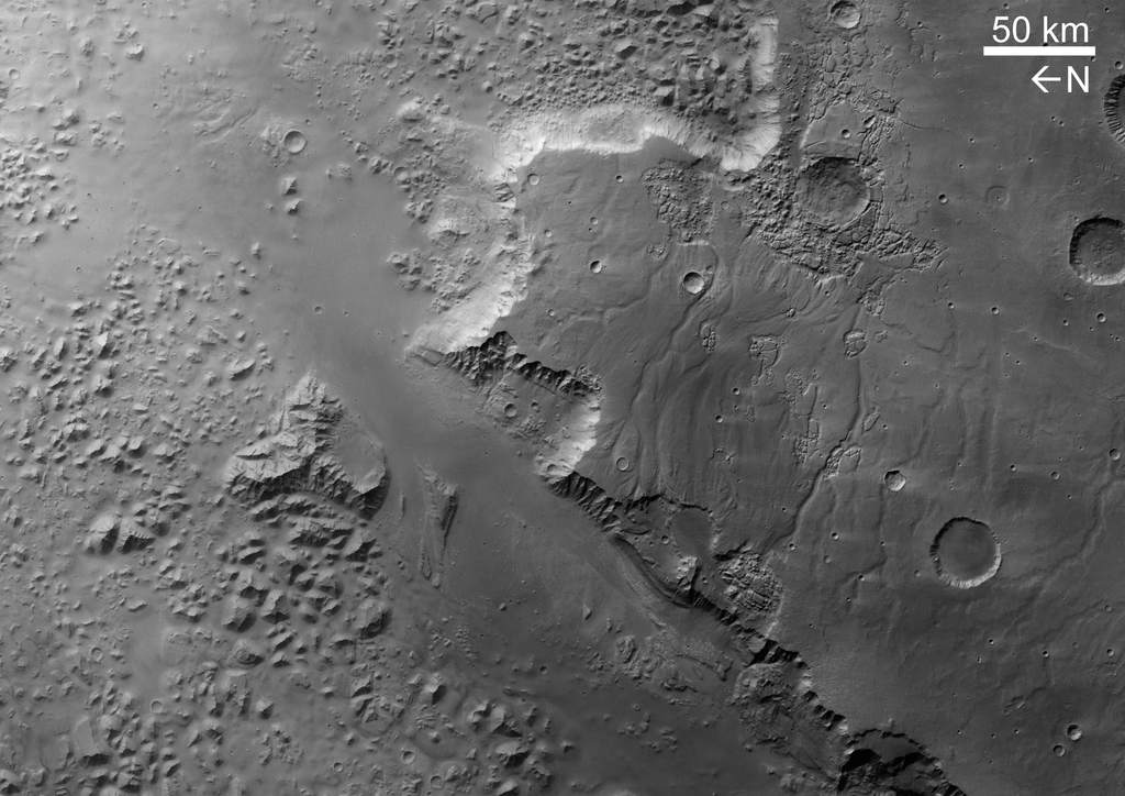 Eos Chasma wczerni ibieli