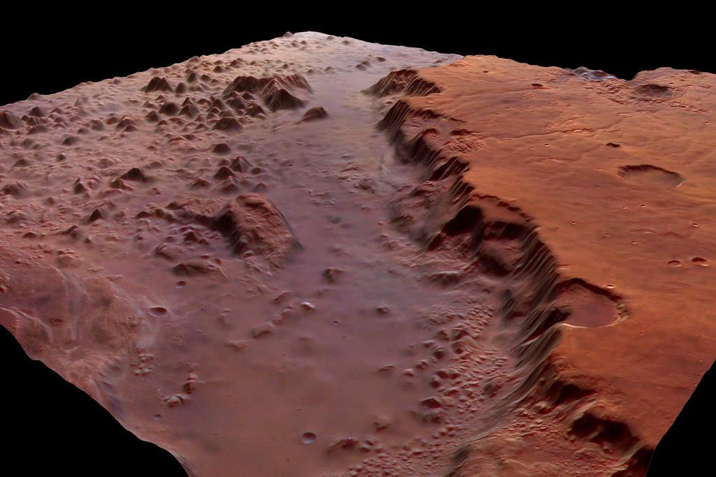 Eos Chasma wperspektywie (II)