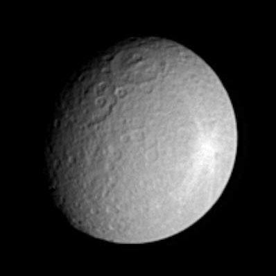 Rea - zdjęcie wykonane z pokładu sondy Cassini