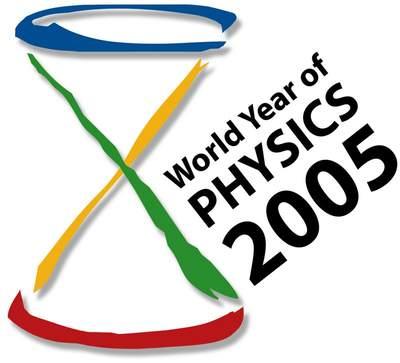 Logo światowego roku fizyki