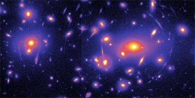 Ciemna materia - mapa