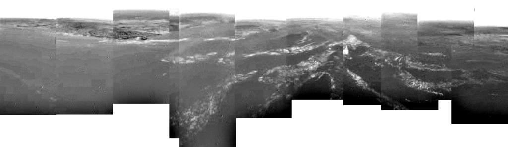 Pierwsze panoramiczne zdjęcie powierzchni Tytana.