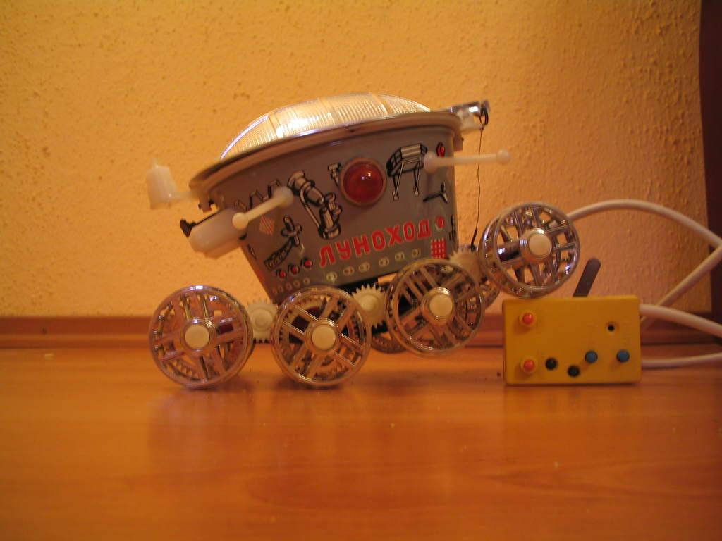 Zabawkowy Łunochod - zdjęcie nadesłane przez czytelnika