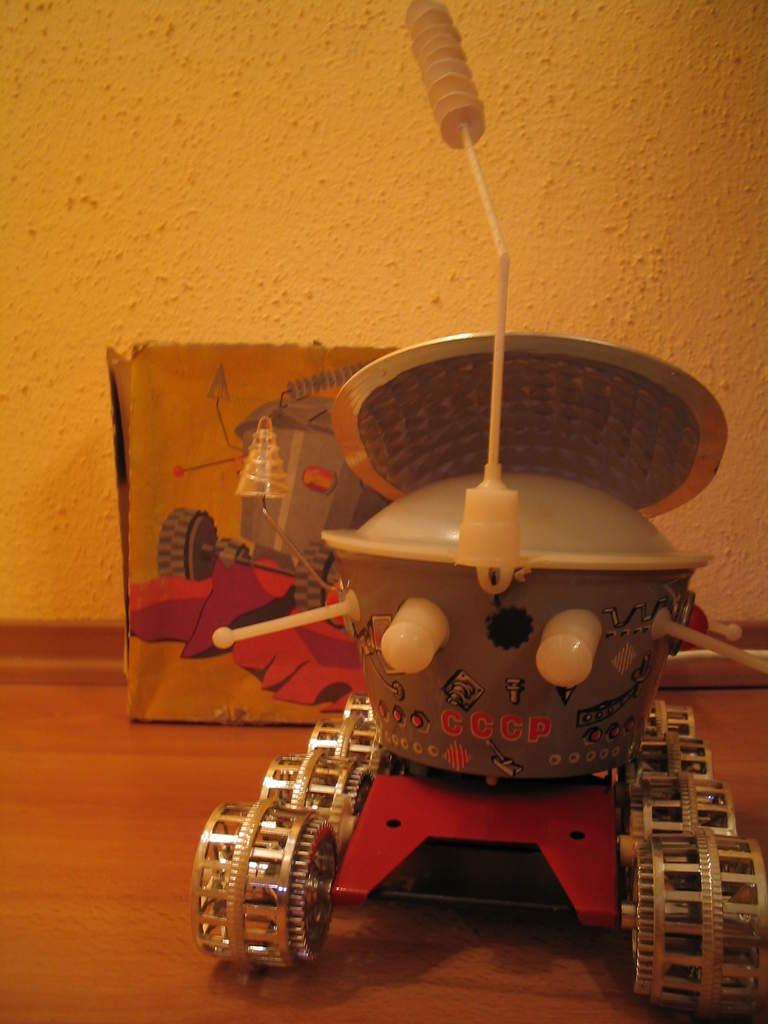 Zabawkowy Łunochod - 2 zdjęcie nadesłane przez czytelnika
