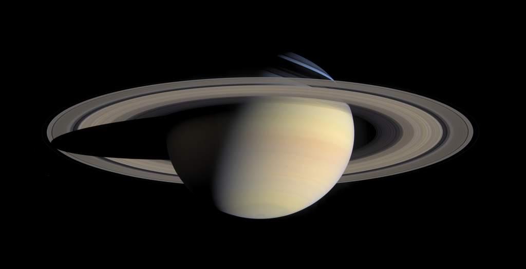 Najdokładniejsze całościowe zdjęcie Saturna z lutego 2005 roku