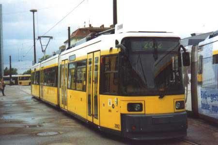 Berliński tramwaj 2012