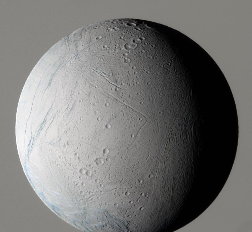 Enceladus z widziany sondy Cassini