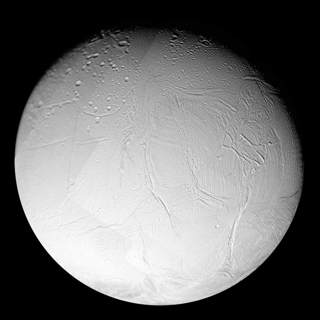 Mozaika zdjęć Enceladusa (Cassini)