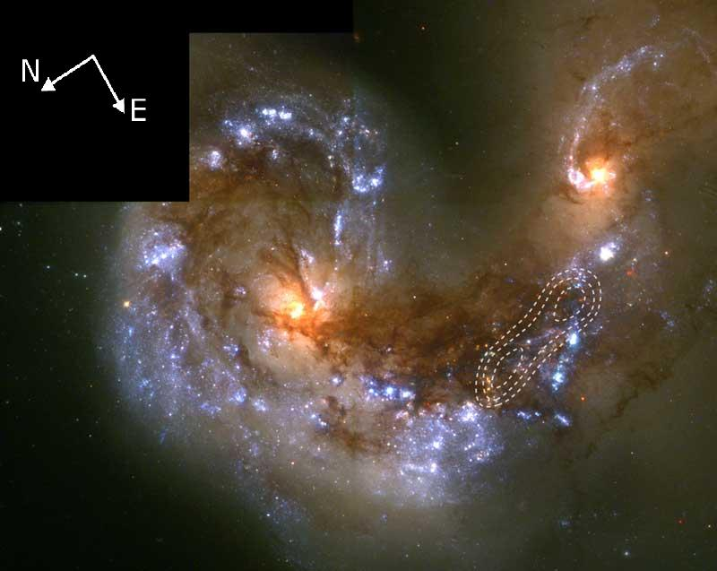 Kolizja Galaktyk Anteny