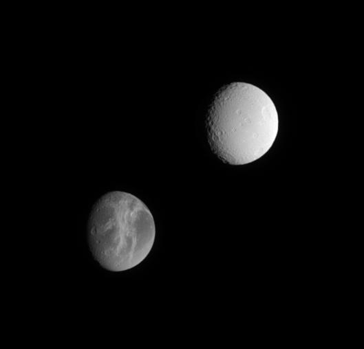 Dione i Tetys