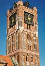 Wieża toruńskiego Ratusza Staromiejskiego