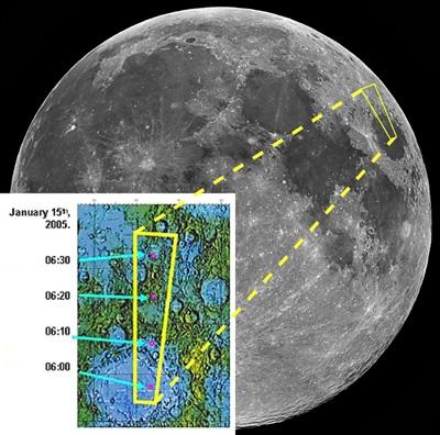 Smart-1 odkrywa pierwiastki na Księżycu