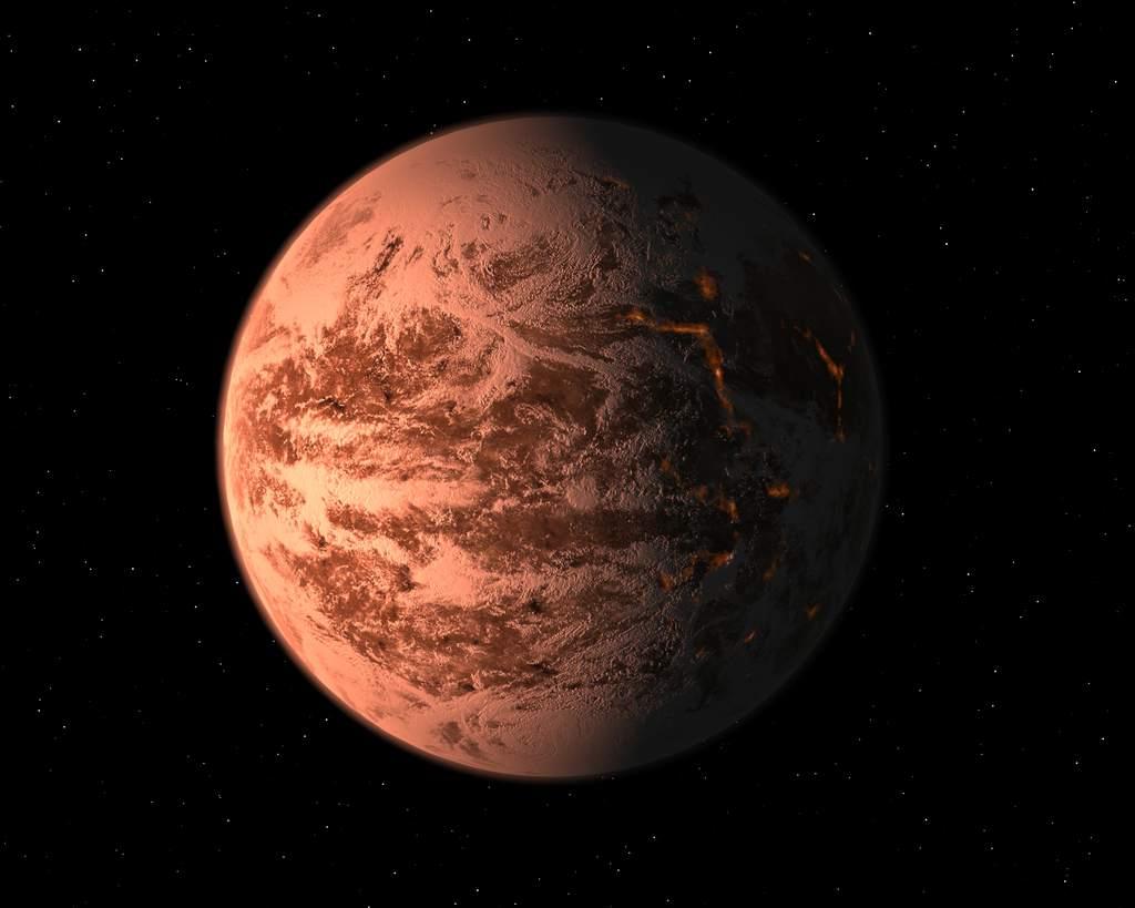 Pierwsza planeta typu Ziemi - koncepcja artystyczna