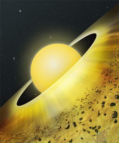 Dysk protoplanetarny wokół TW Hydrae