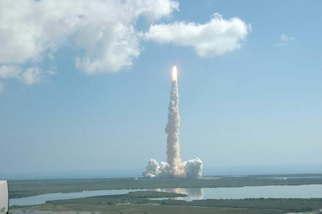 Start STS-114 (IV)