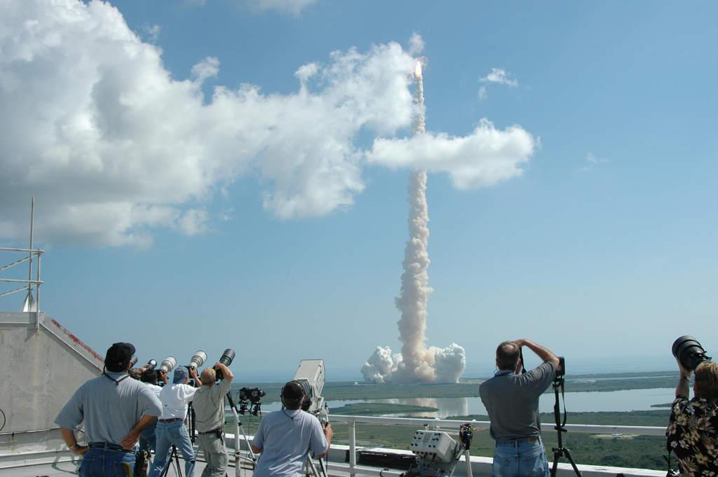 Start STS-114 (V)