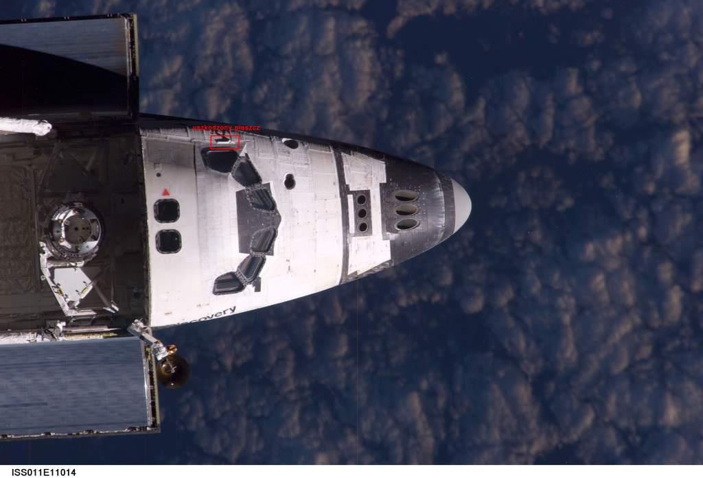 Uszkodzenie poszycia promu Discovery (STS-114)