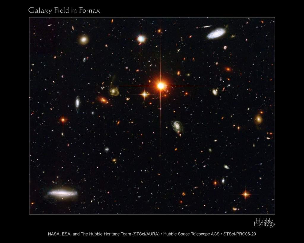 Pole galaktyk w Piecu