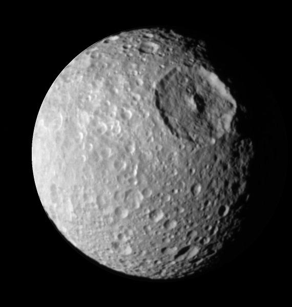 """Mimas - """"Gwiazda Śmierci"""" (I)"""