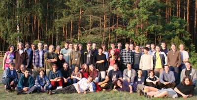 Roczniki 2003 i2004 nawspólnym obozie